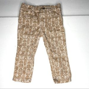 7 for all mankind wild animal print toddler pants